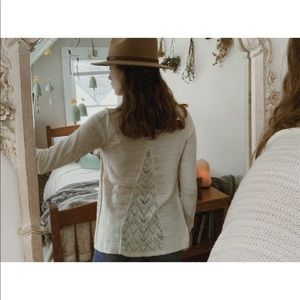 Sparrow top from Anthropologie